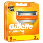 Gillete Lâminas Fusion 5 8'S XL 8 Unidades