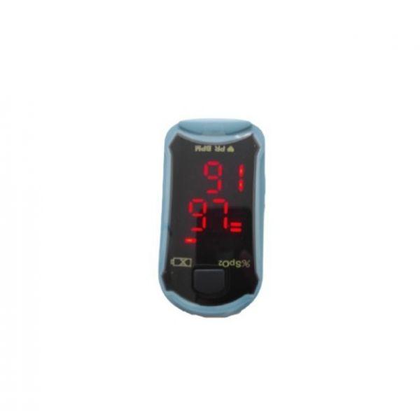 Monitor de Pulso / Oxímetro de Dedo Azul/Branco