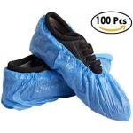 Rubbergold Cobre Sapatos Visitante Azul Descartável CPE 100 Unidades