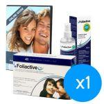 Foliactive Anti-Queda 60 Cápsulas + Loção Spray Anti-Queda 100ml Coffret