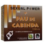 Pure Nature Sexual Power + Pau de Cabinda 20 ampolas