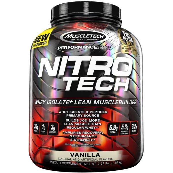 Muscletech Nitro Tech Performance Series 1800g Baunilha