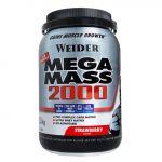 Weider Super Mega Mass 2000 1,5kg Morango