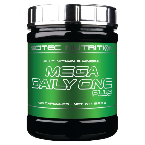 Scitec Nutrition Mega Daily One Plus 120 cápsulas