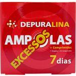 Depuralina Excessos 7 Ampolas + 42 Comprimidos