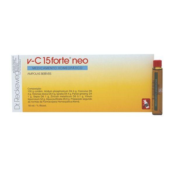 Dr. Reckeweg V-C 15 Forte Neo 24 Ampolas Bebíveis
