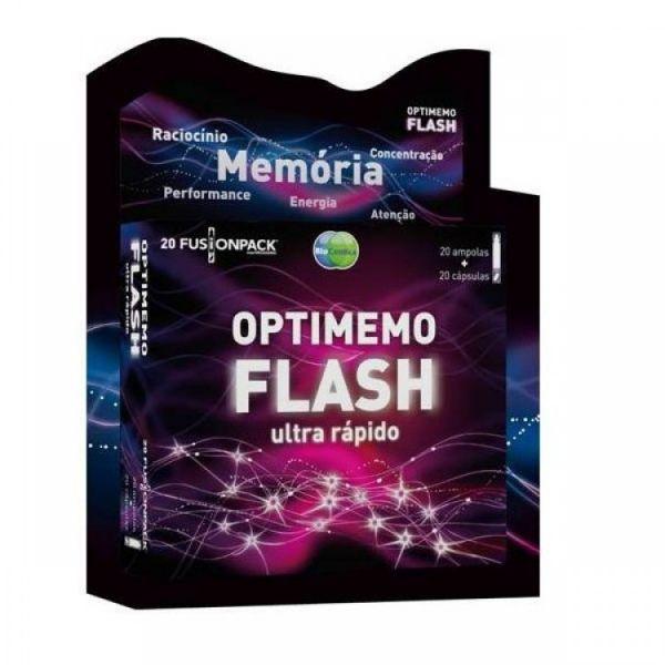 Bioceutica Optimemo Flash 20 Ampolas + 20 Cápsulas
