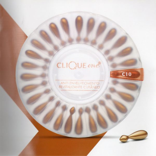 Medinfar Clique One Vitamina C10 Anti-Idade 28 Monodoses