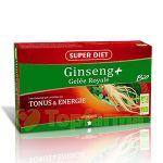 Super Diet Ginseng Geleia Real Bio 20 ampolas