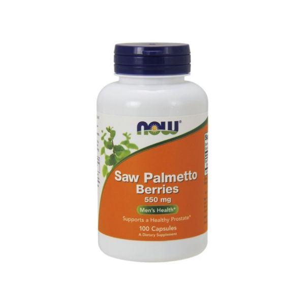 Now Saw Palmetto Berries 550mg 100 cápsulas