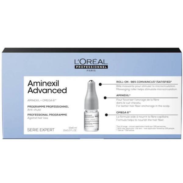 L'Oréal Expert Aminexil Control Advanced Tratamento Anti-Queda 10x6ml
