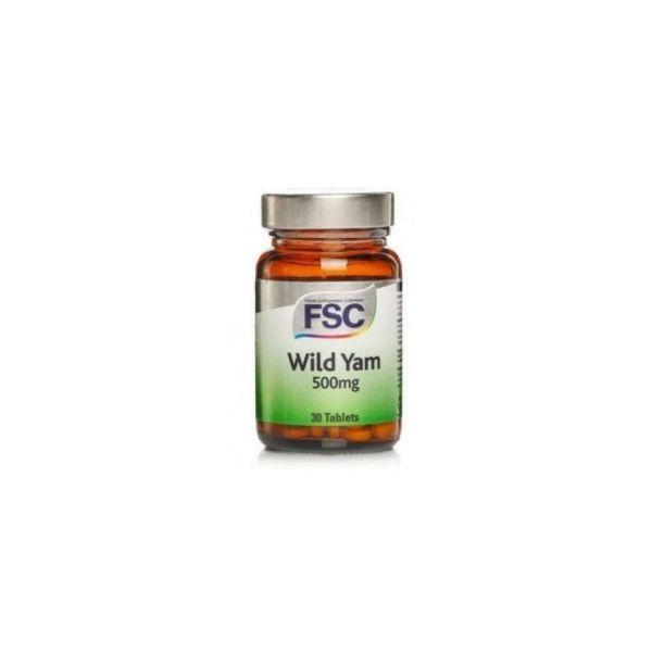 FSC Wild Yam 500mg 30 Comprimidos