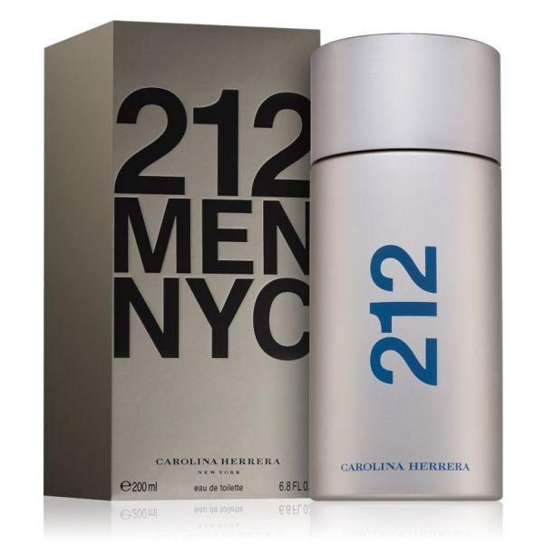 Perfume Homem Carolina Herrera 212 NYC For Men EDT 200ml - KuantoKusta 393e9fc391