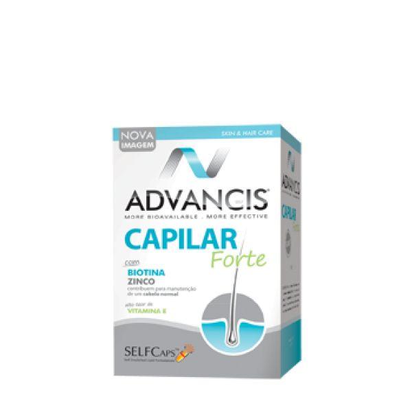 Advancis Fortalecimento Capilar 60 cápsulas