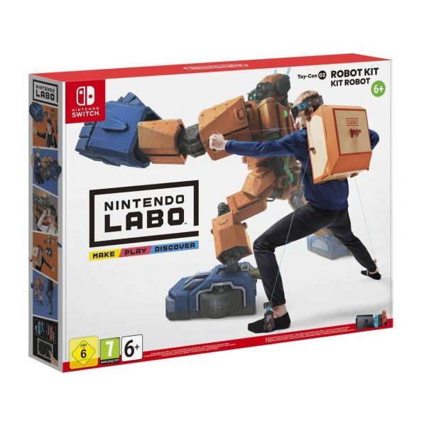 Jogo Labo Robot Kit Toy-Con 2 Nintendo Switch