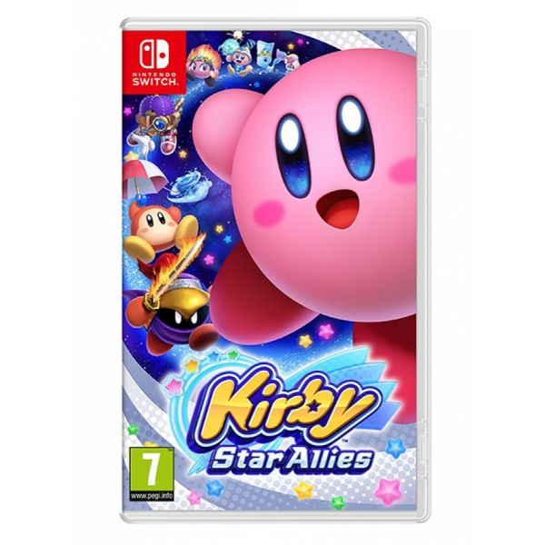 Jogo Kirby Star Allies Nintendo Switch