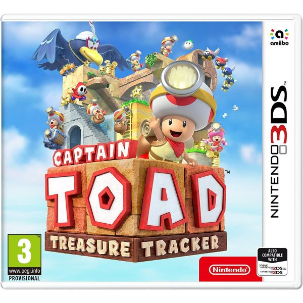 Jogo Captain Toad: Treasure Tracker 3DS