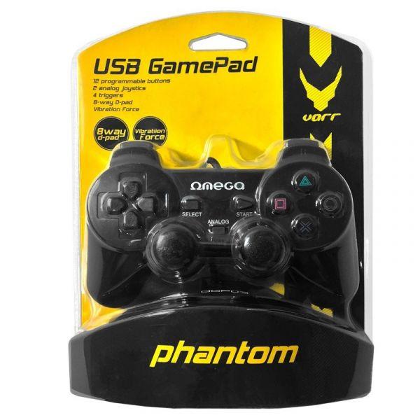 Omega Gamepad Phantom para PC