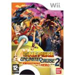Jogo One Piece: Unlimited Cruise 2 Awakening of a Hero Wii Usado