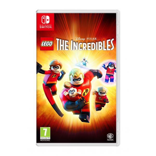 Jogo LEGO The Incredibles Nintendo Switch