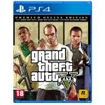 Jogo Grand Theft Auto: V Premium Online Edition PS4
