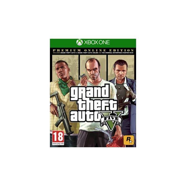 Jogo Grand Theft Auto: V Premium Online Edition Xbox One