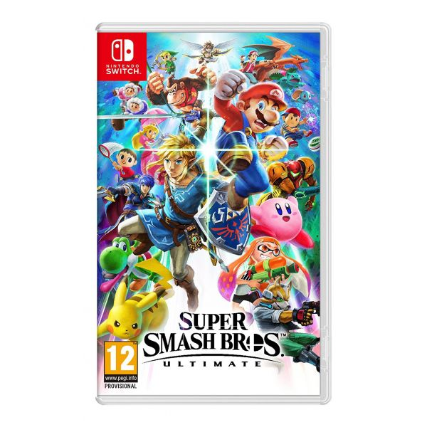 Jogo Super Smash Bros. Ultimate Nintendo Switch