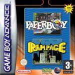 Jogo Paperboy & Rampage sem caixa GBA Usado
