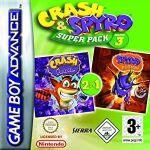 Jogo Crash & Spyro Superpack Vol. 3 sem caixa GBA Usado