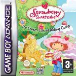 Jogo Strawberry Shortcake Ice Cream Island Riding Camp sem caixa GBA Usado