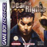 Jogo Dead to Rights sem caixa GBA Usado