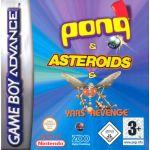 Jogo Pong & Yars Revenge & Asteroids sem caixa GBA Usado