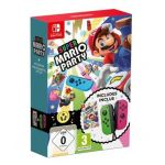 Jogo Super Mario Party + Comandos JoyCon (Rosa/Verde) Nintendo Switch