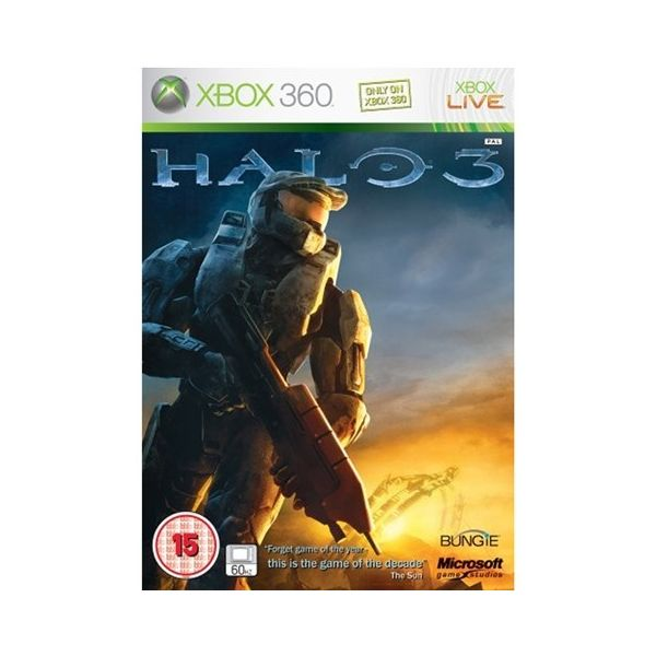 Jogo Halo 3 Xbox 360 Usado