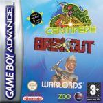 Jogo Breakout & Centipede & Warlords sem caixa GBA Usado