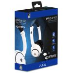 4Gamers Headset Gaming Pro 4-40 White PS4