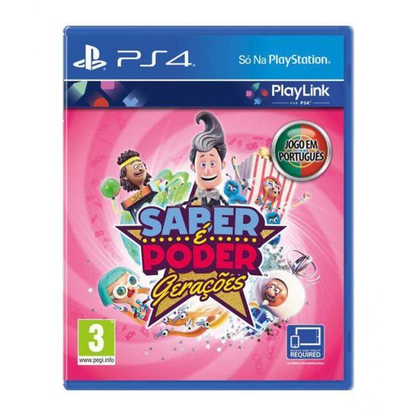 Jogo Saber é Poder Gerações (PlayLink) PS4