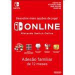 Nintendo Switch Online Subscrição 365 Dias Plano Familiar (Digital eShop)