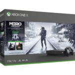 Consola Microsoft Xbox One S 1TB + Metro Exodus Xbox One