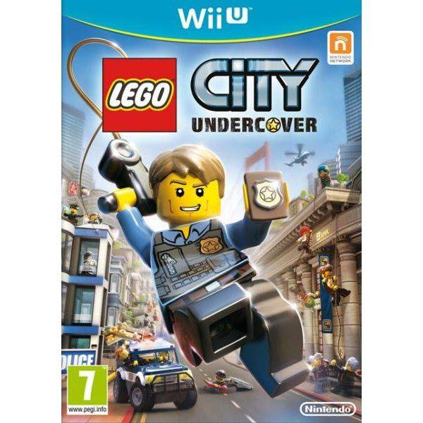 Jogo LEGO City Undercover Wii U Usado