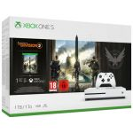 Consola Microsoft Xbox One S White 1TB + Tom Clancy's The Division 2
