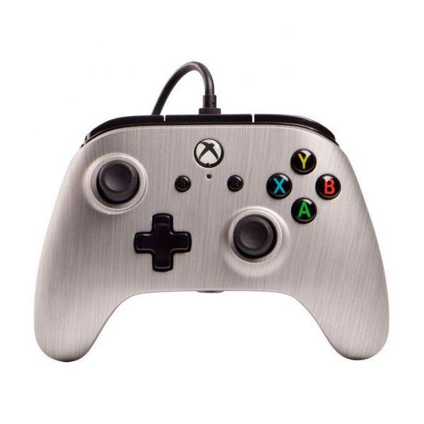 PowerA Comando Wired para Xbox One Alumínio Escovado