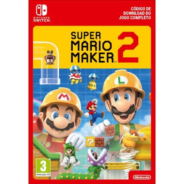 Jogo Super Mario Maker 2 Download Digital Nintendo Switch