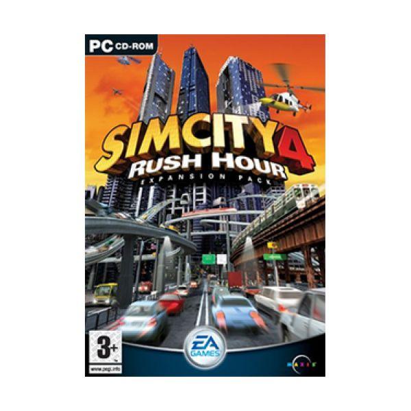 Simcity 4 Rush Hour Disco De Expansão PC Usado