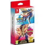 Jogo Pokemon Sword + Pokemon Shield + Steelbook Exclusivo Nintendo Switch