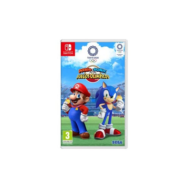 Jogo Mario & Sonic at the Olympic Games Tokyo 2020 Nintendo Switch