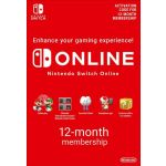 Nintendo Switch Online Membership - 12 Months Europe