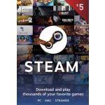Steam Wallet Gift Card 5 EUR Steam Key EUROPE