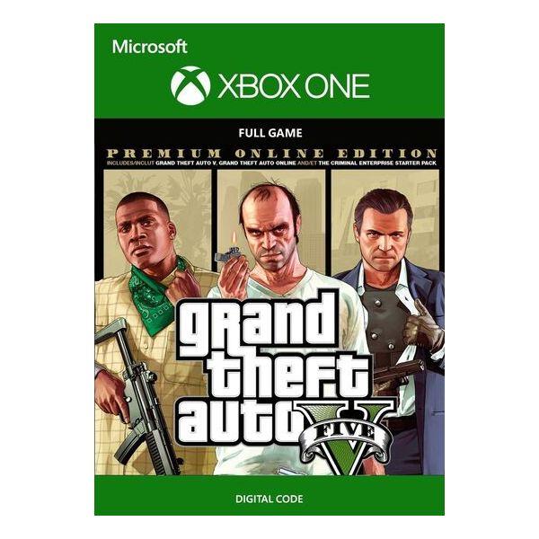 Jogo Grand Theft Auto V: Premium Online Edition Xbox One Download Digital