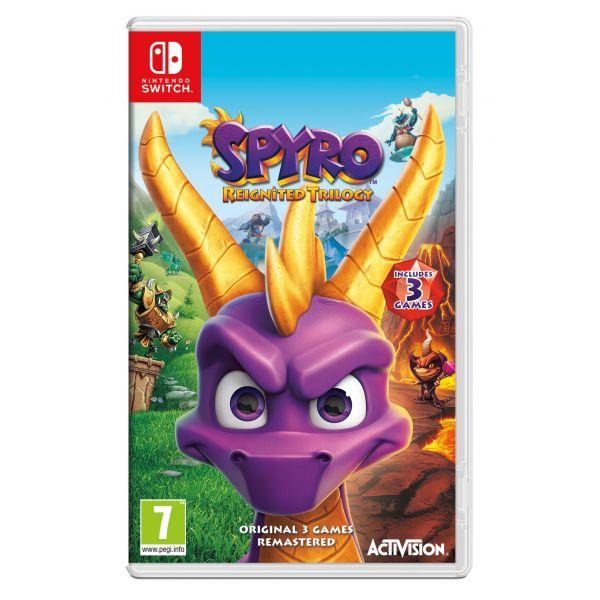 Jogo Spyro Reignited Trilogy Nintendo Switch